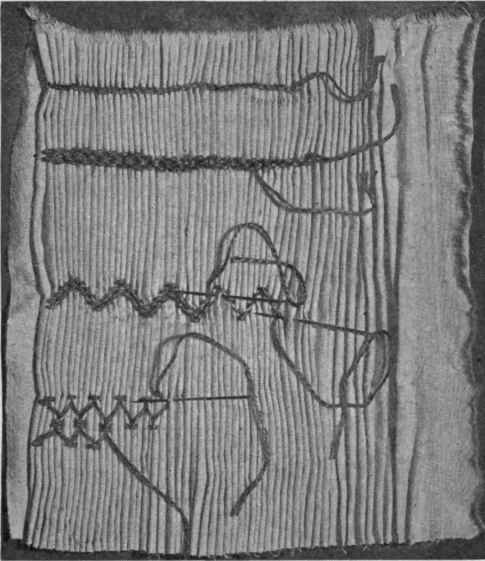 Medieval Silkwork A Smocked Apron Some Things I Ve