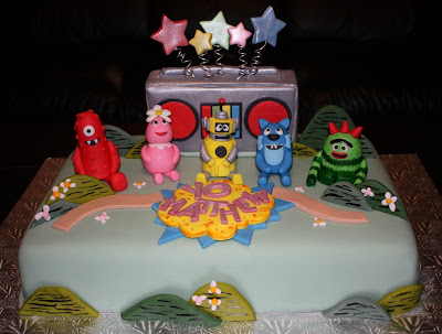 Mae Makes Cakes Yo Gabba Gabba Matthew S 1st Birthday Cake