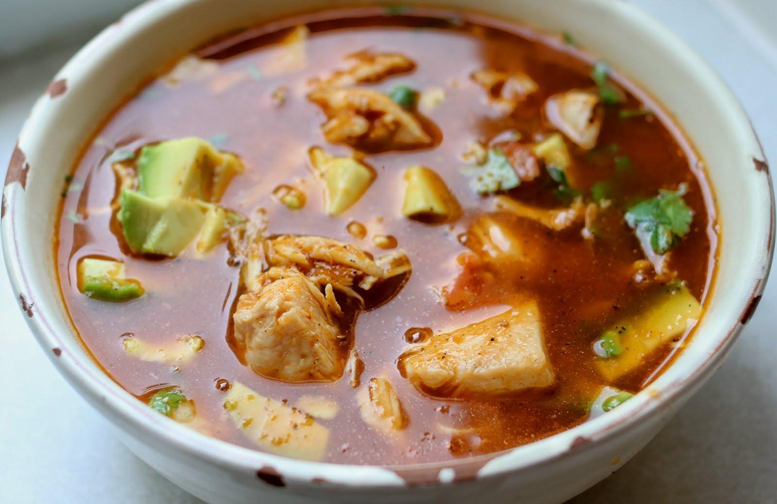 On My Menu Sopa Azteca
