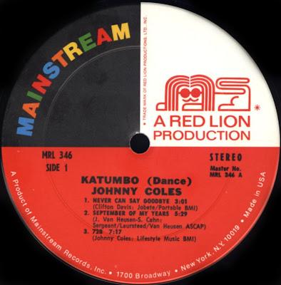 Soundological Investimigations Johnny Coles Katumbo Dance