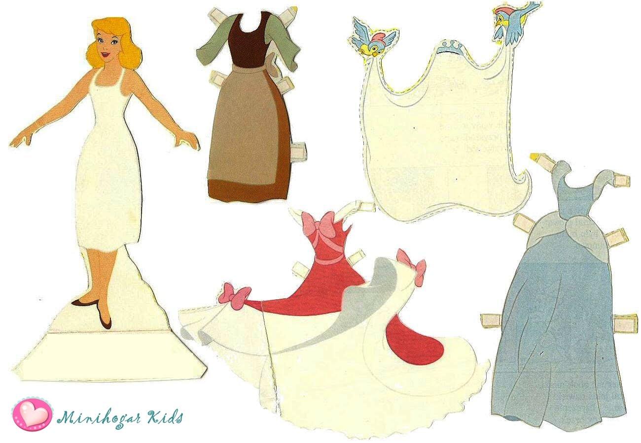 El Rincon De Los Peques Princesas Disney Para Recortar