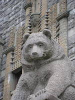 Bear sculpture in Helsinki Finland