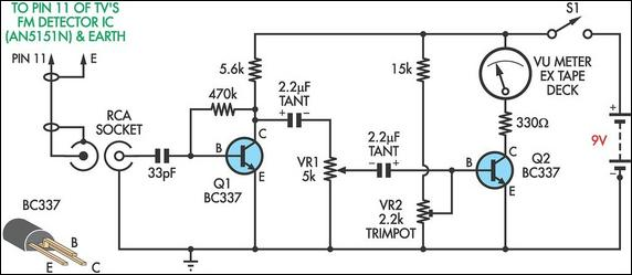 wiring material circuit diagram fm antenna booster FM Antenna Diagram circuit diagram fm antenna booster