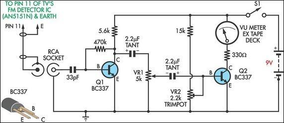 Wiring Material: Circuit Diagram FM Antenna Booster