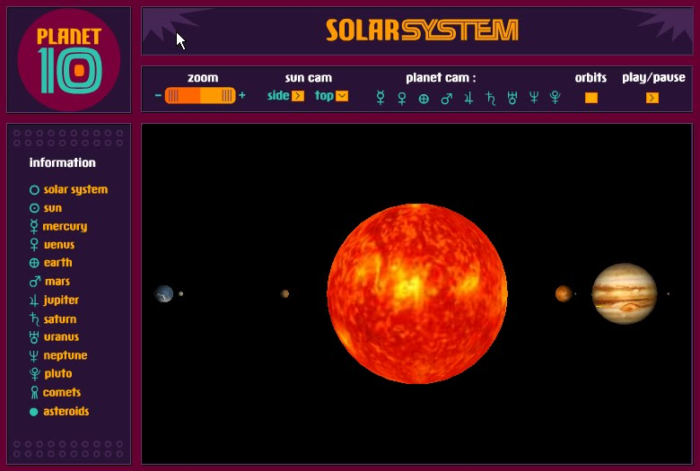 virtual solar system - photo #2