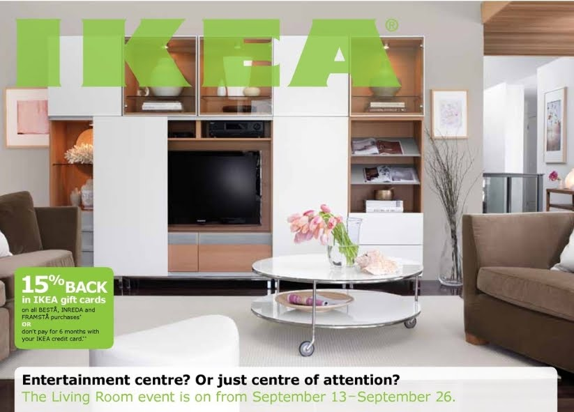 IKEA: Living Room Event Get 15% Back In IKEA Gift Cards (Apr 16