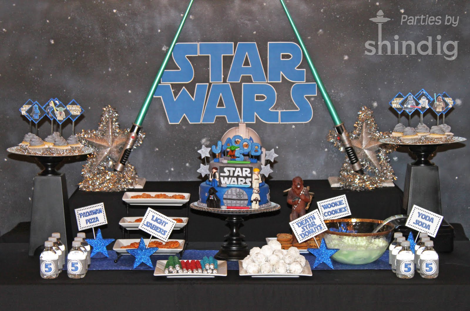 be different act normal star wars party treats. Black Bedroom Furniture Sets. Home Design Ideas