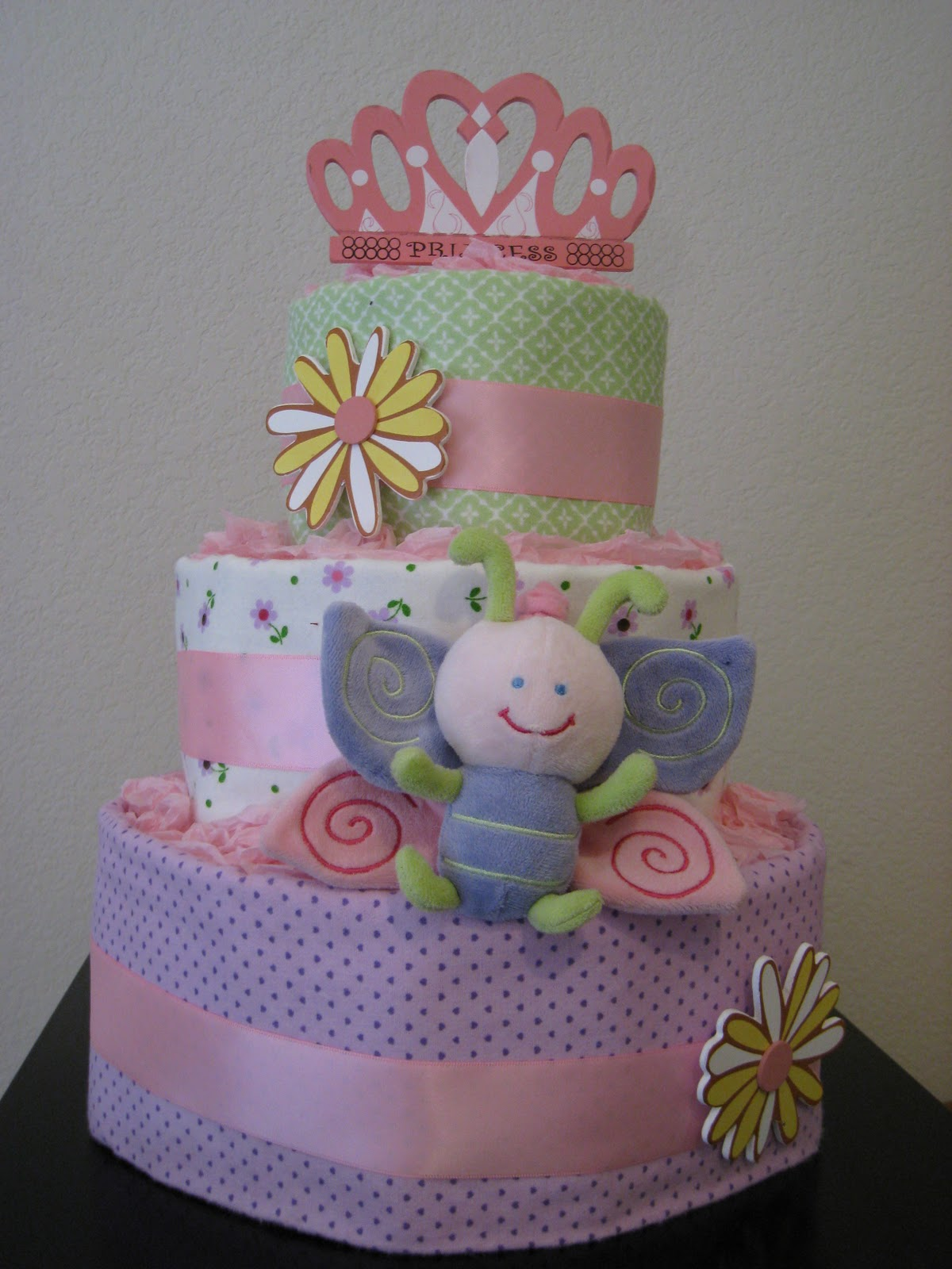 The Party Wall Diaper Cakes