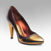 Bronze Shoes Heels