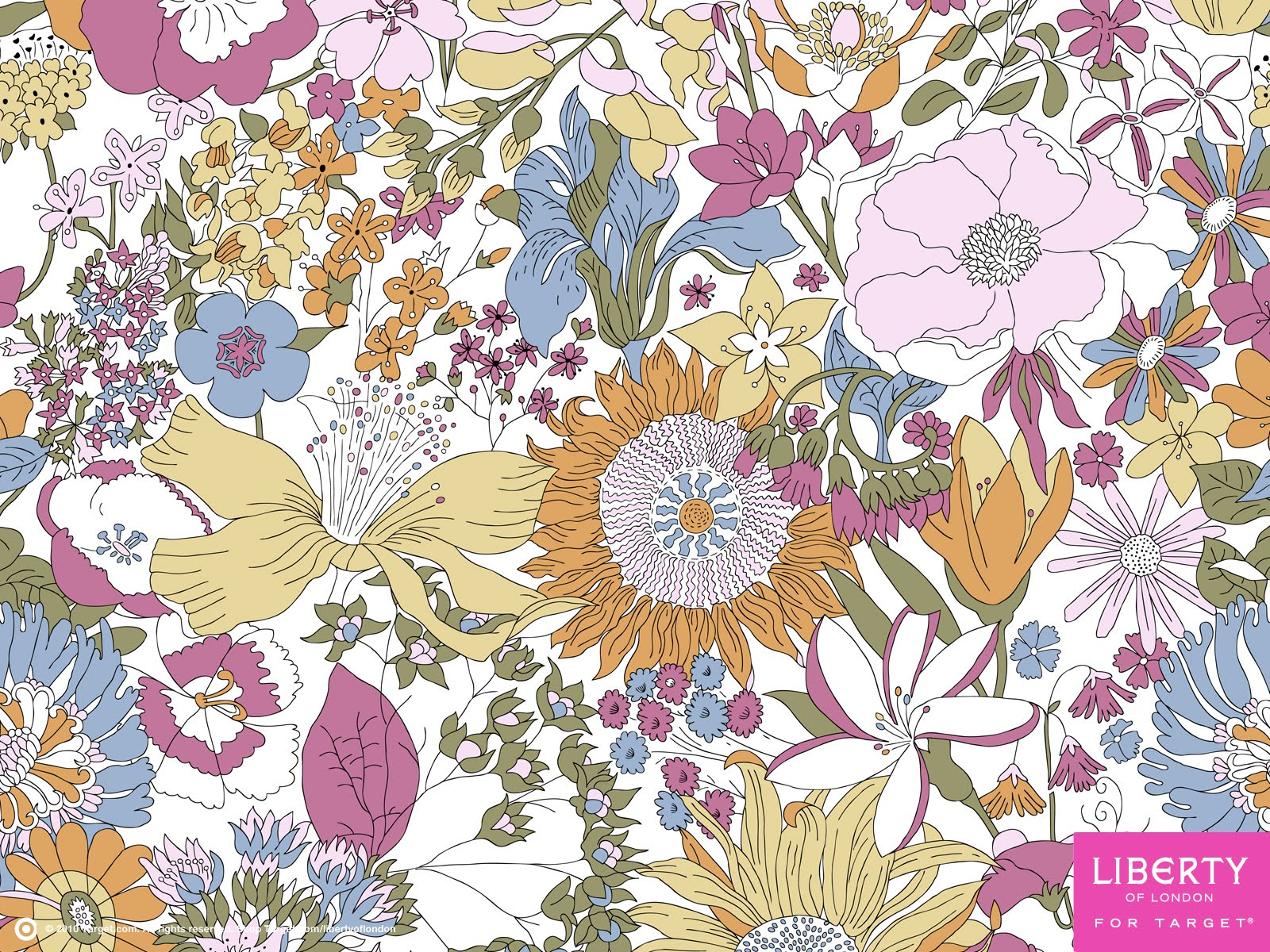Floral Print Iphone Wallpaper How Do I Love Thee Liberty Of London For Target