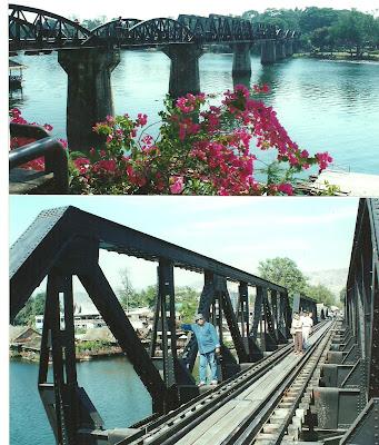 הגשר על נהר קוואי תאילנד