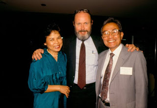 Drs. Charles Friel and Rolando del Carmen and his wife Josefa