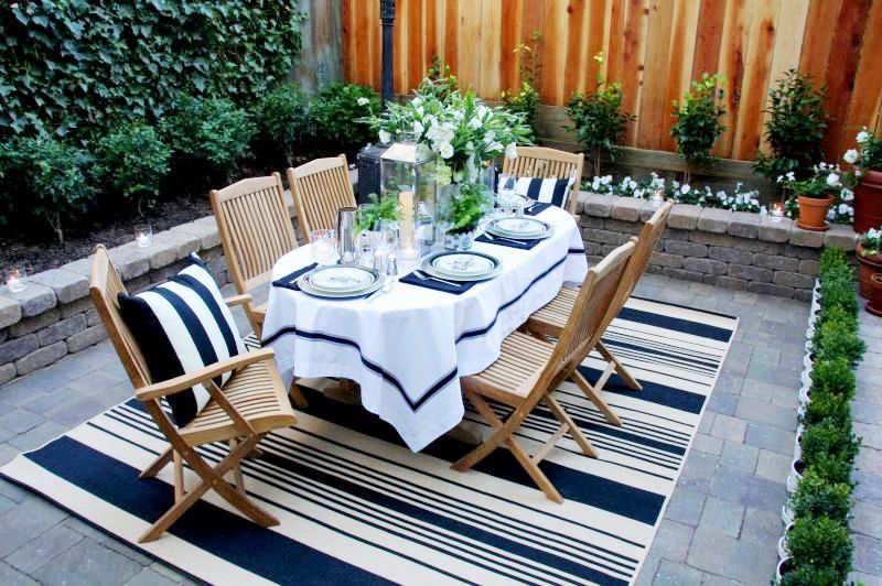 Diary Of A Designer The Perfect Patio