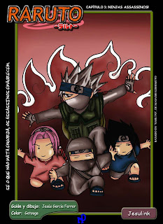Raruto Mangá 03 - Ninjas Assassinos!