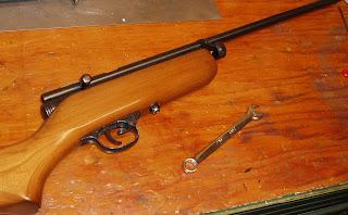 Another Airgun Blog: Derrick's Crosman 180 Repair Part 1