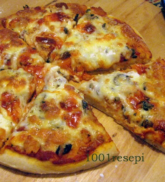 koleksi  resepi pizza bread  pizza Resepi Roti Hotdog Lembut Enak dan Mudah