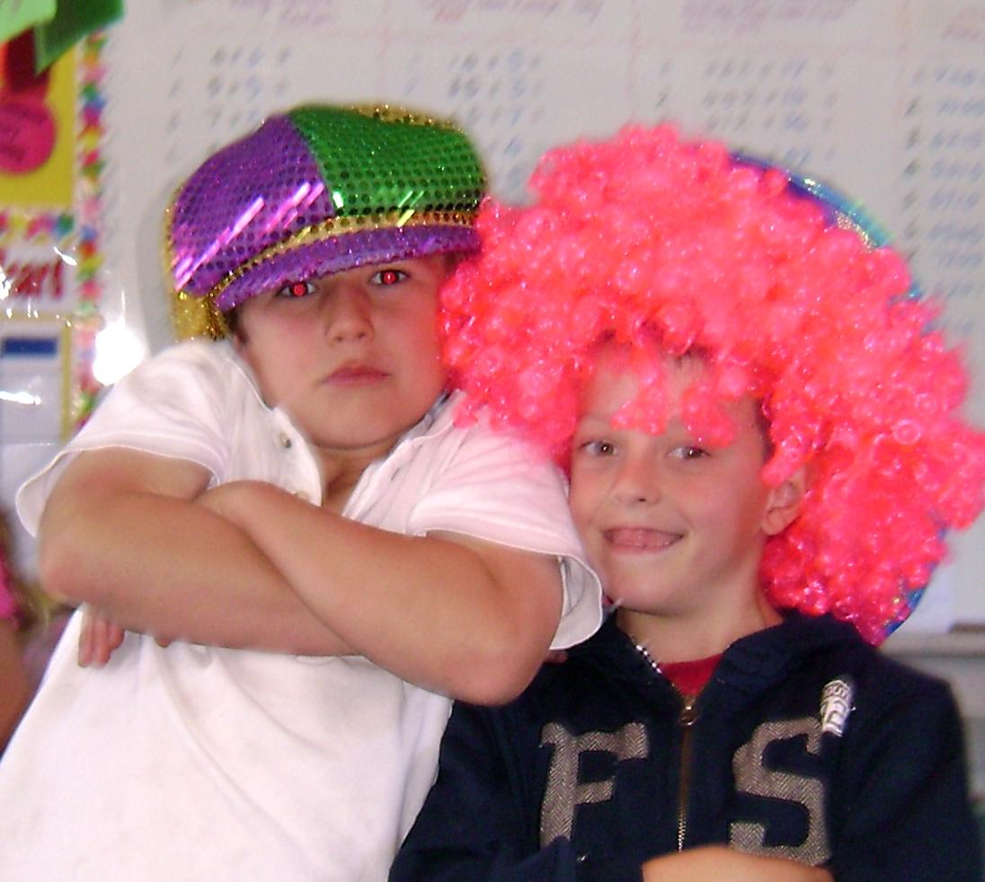Room 4: Crazy Hat Day