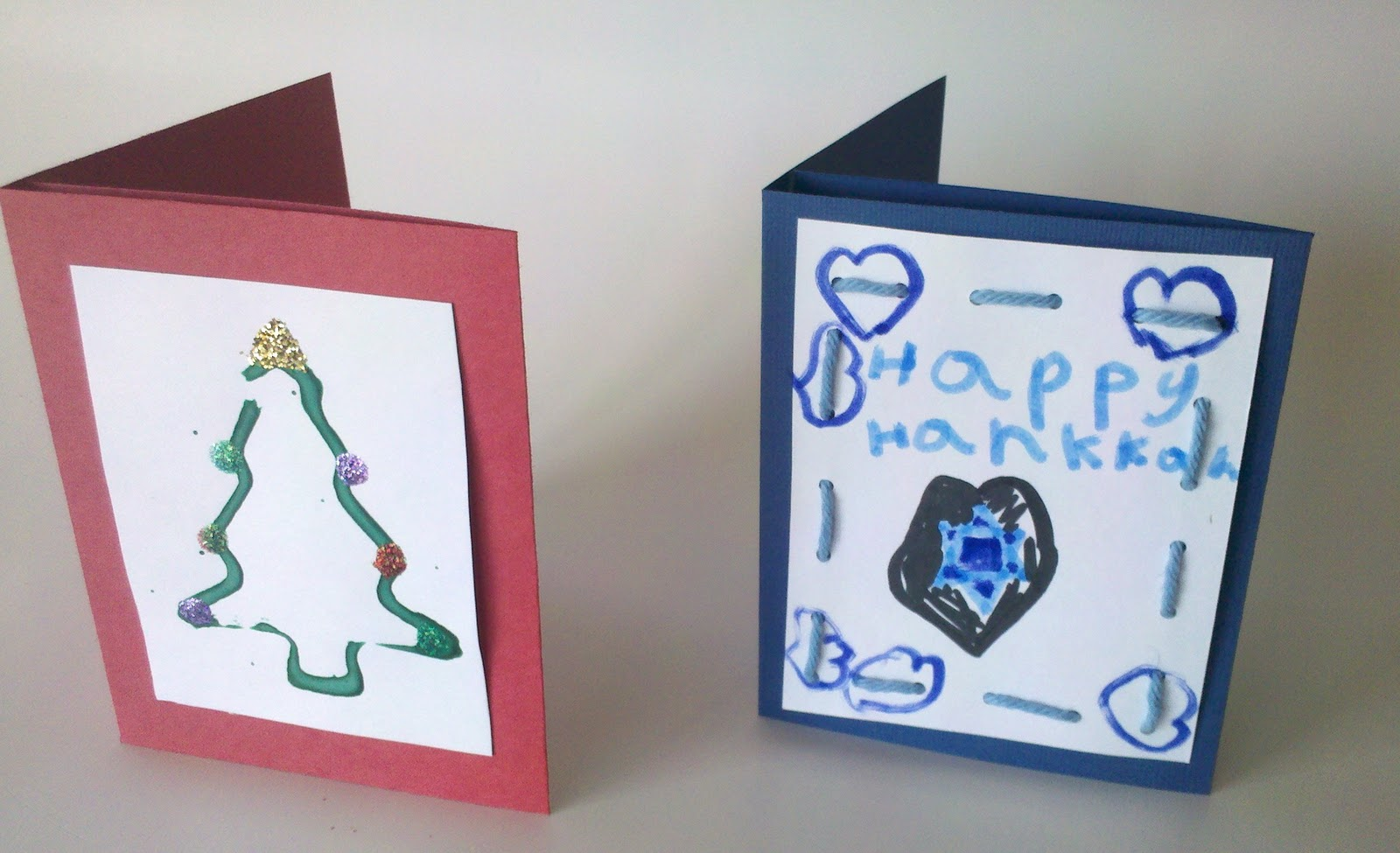 Be Brave, Keep Going: Homemade Holiday Christmas Gift Card Holder Kids Can Make