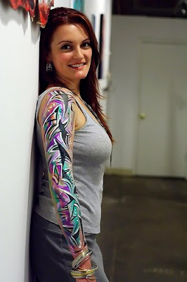 Handy Tattoos Top Female Sleeve Tattoo Designs