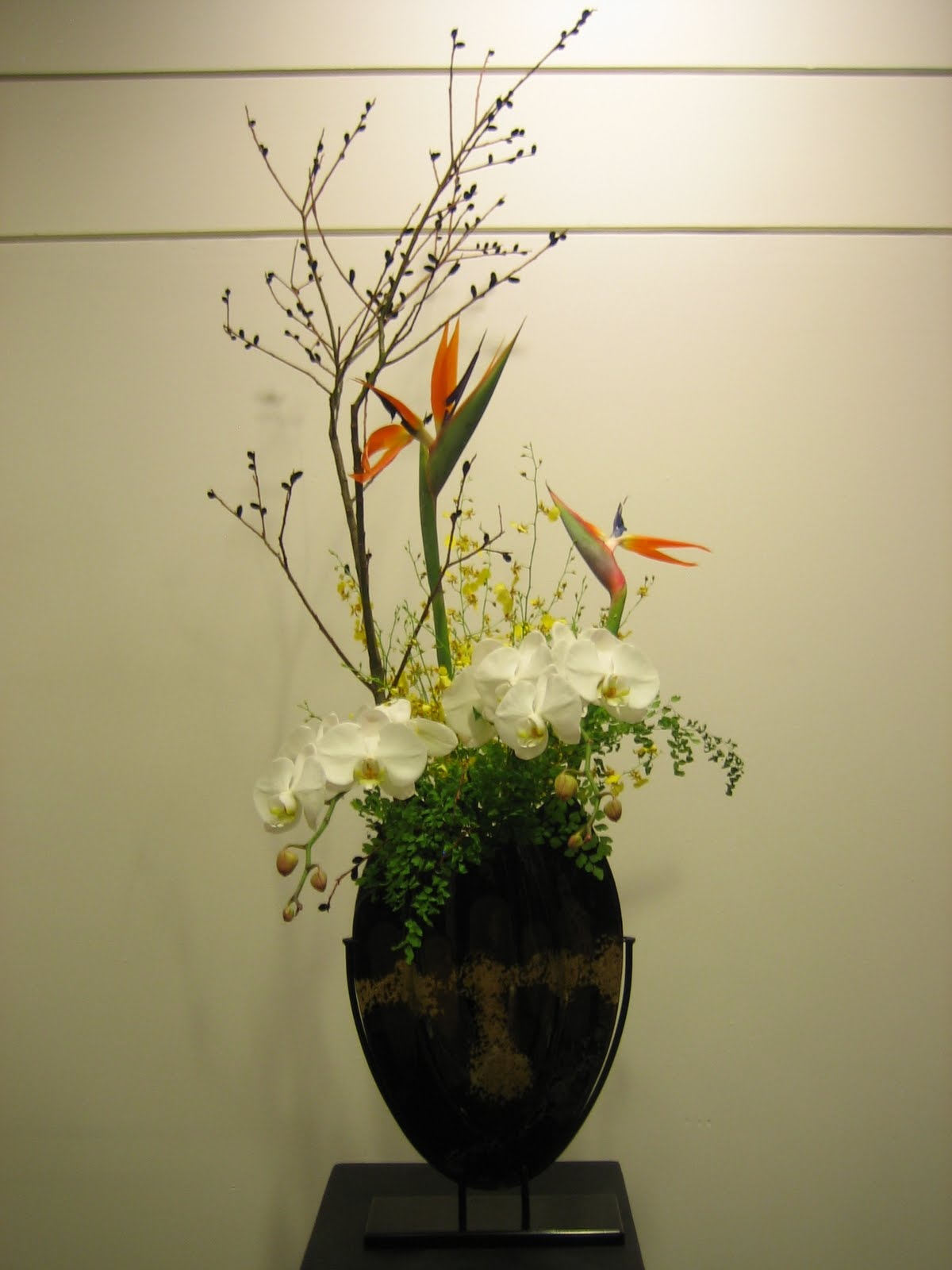 flower-arranging was r...