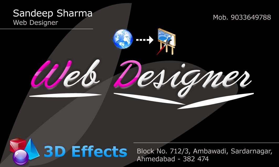 Web Design, Web Designer, Sandeep Sharma