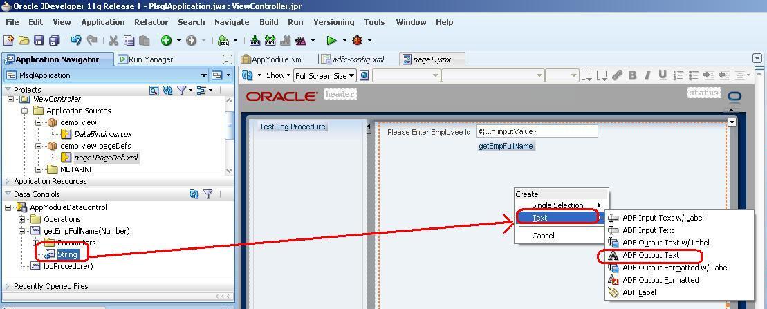 Zeeshan Baig's Blog: Calling PL/SQL Procedure and Function