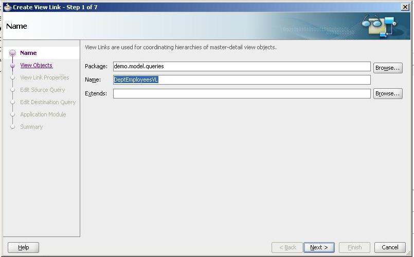 Zeeshan Baig's Blog: Creating Master-detail form in Oracle ADF