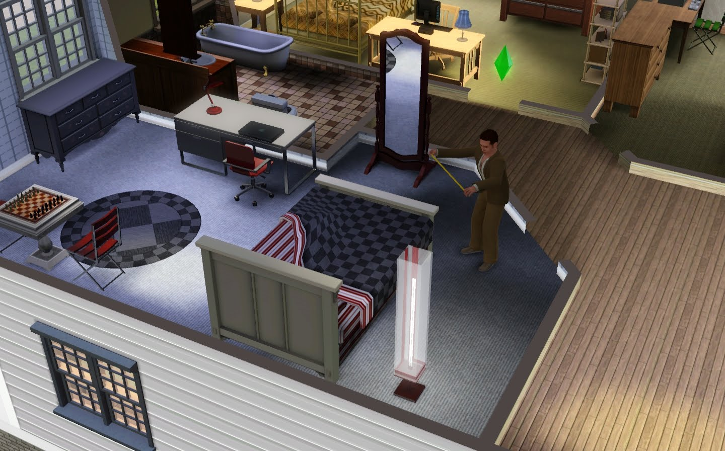 Domestic Gamer Sheep And Gull Sims 3 Architect Glitches