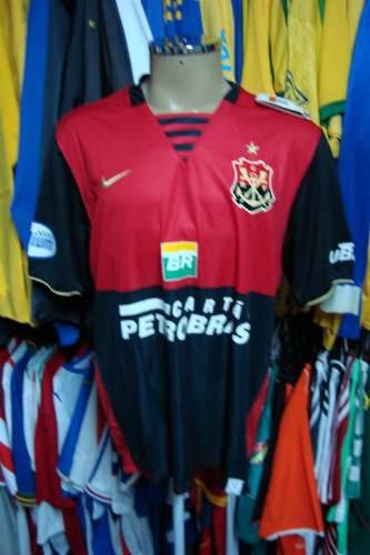 f04efeb404 Brechó do Futebol. Bar   Camisetas.  Flamengo 2008 Última Camisa ...