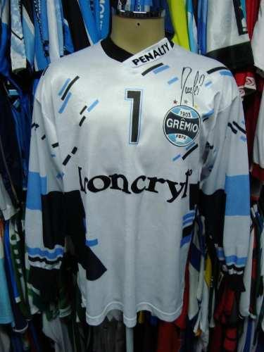 1eb1eb2fcc Brechó do Futebol. Bar   Camisetas.  Grêmio 1997 Camisa Branca De ...