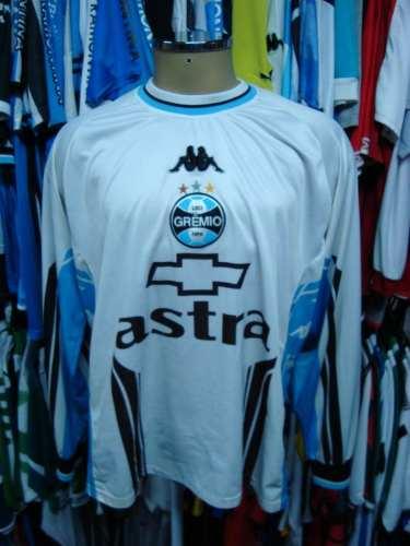 c080ebfa1f Brechó do Futebol. Bar   Camisetas.  Grêmio 2000 Camisa Branca De ...