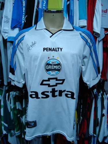 93d5651bef Brechó do Futebol. Bar   Camisetas.  Grêmio 1999 Camisa Reserva ...