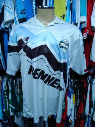 Brechó do Futebol. Bar   Camisetas.  Grêmio 1995 Camisa Branca ... bf1aee0294a8e