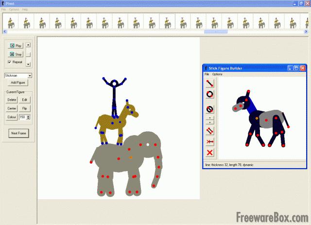 Plantel de DESCARGAS: Descargar Pivot Stickfigure Animator