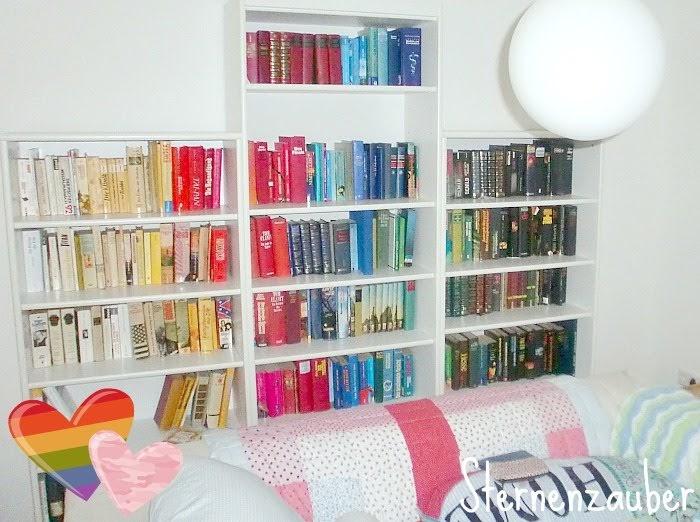 sternenzauber b cher nach farbe sortieren. Black Bedroom Furniture Sets. Home Design Ideas