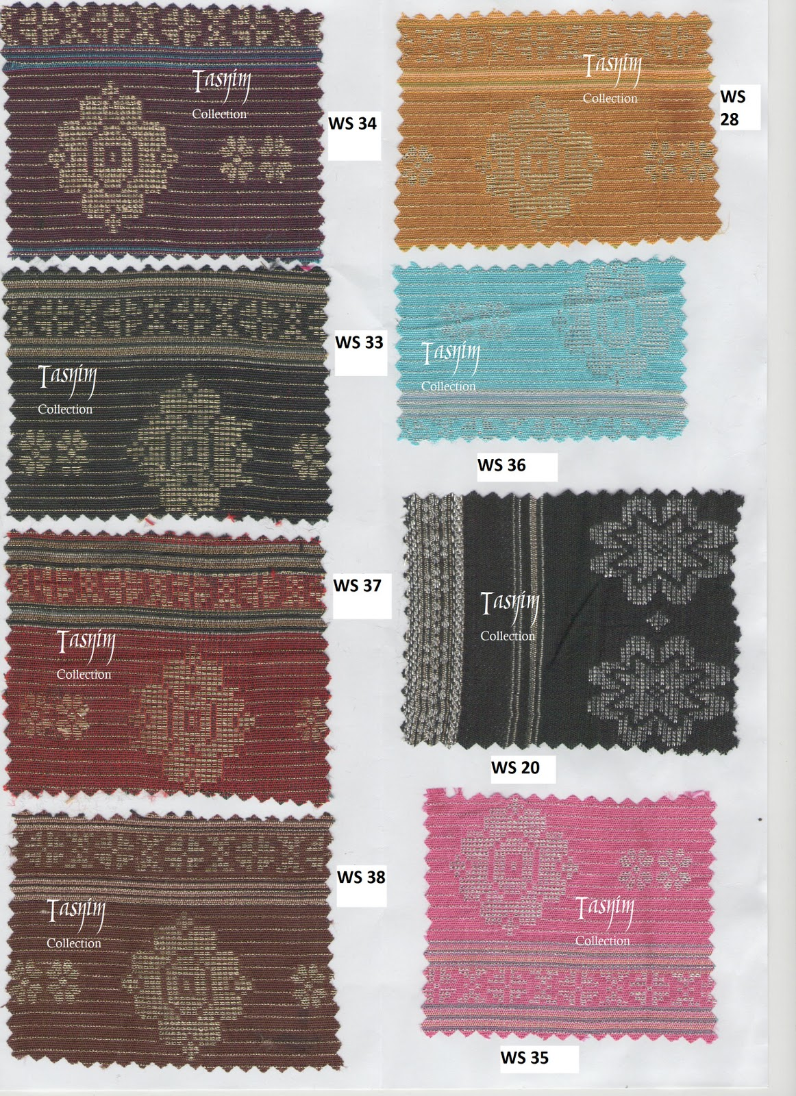 Tasnim Collection Awning Collection Songket
