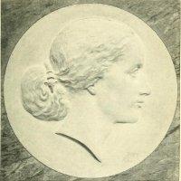 Joseph Kopf: Relief von Mathilde Wesendonck. 1864