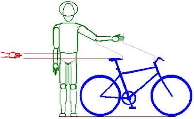 1 + - (ummaisoumenos.blogspot.com.br)  Acerte na bicicleta - altura ... 391a9e39b239c