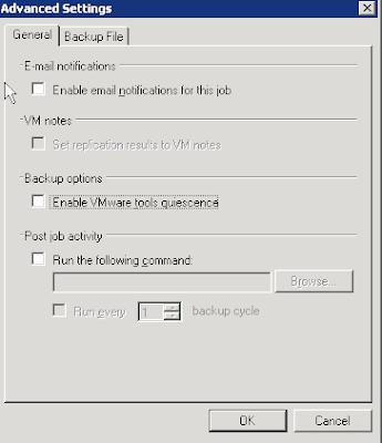 Error en Veeam Backup: True Cannot create a quiesced snapshot
