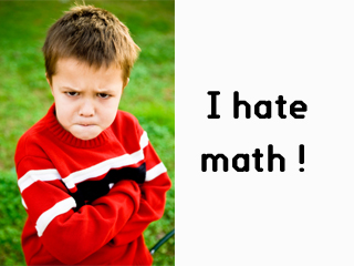 Middle Class: MATHS AND ME.. I Hate Math Image