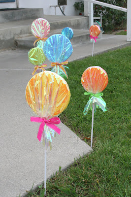 Candyland Party Decorations Diy {How-to} Make G...