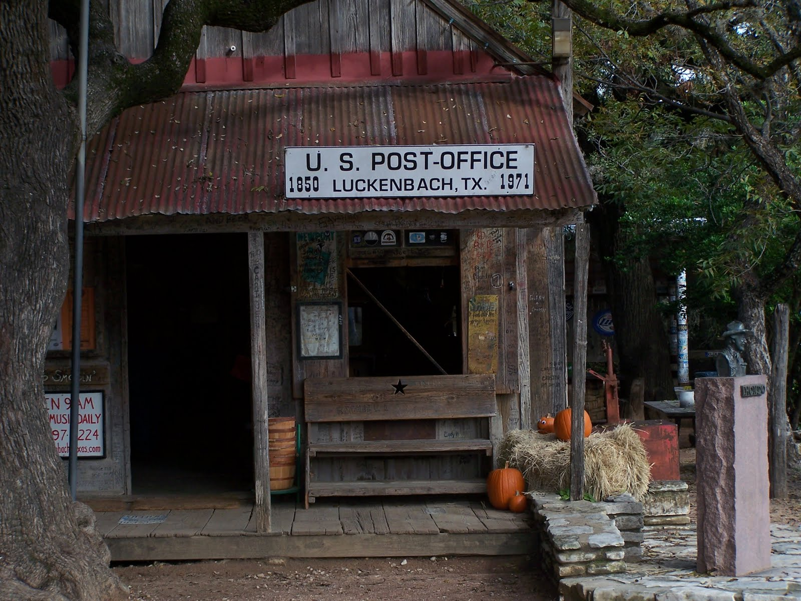About Life In The Texas Hill Country: Down In Luckenbach