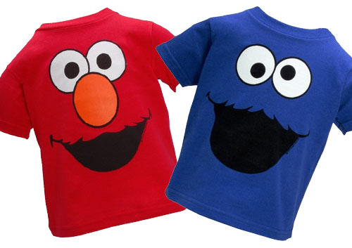 Maryland Pink and Green: Cookie Monster...Really?  Elmo And Cookie Monster Gangster
