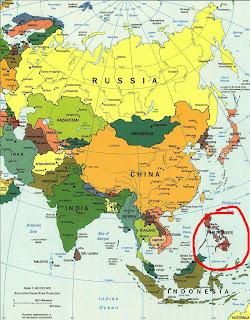 mapa azije Azija   Filipini   Mindanao | away from 025 mapa azije
