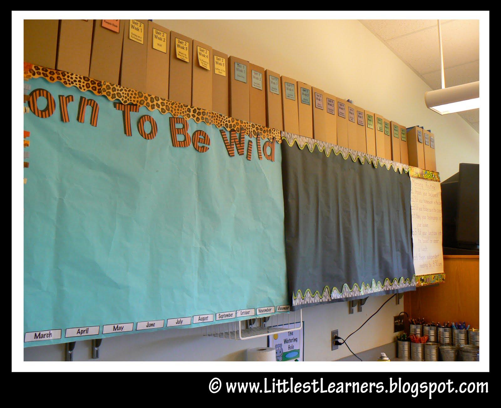 Jungle Safari Themed Classroom