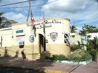 Resultado de imagen para Destacamento policial de La Caleta, Boca Chica