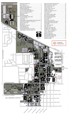 Ball State Campus Map Ball State Campus Map | States Maps