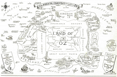 GIS Research and Map Collection: Wizard of Oz Maps from