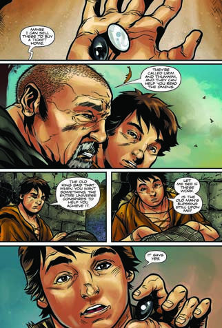 the brain lair the alchemist graphic novel by paul coelho  i had one moment of confusion when santiago first gets to africa it was hard to tell him apart from the character he met in the bar