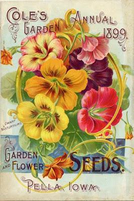 Jamaica Byles Ephemera Vintage Seed Packets